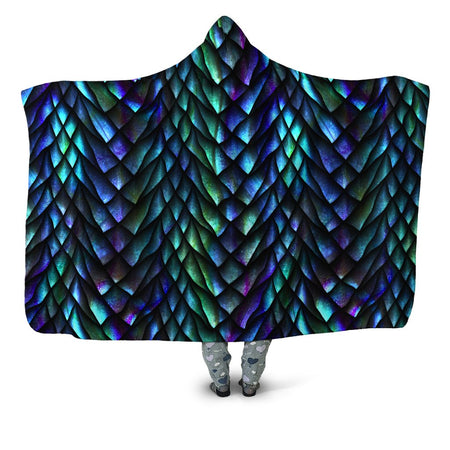 iEDM - Dosed Dragon Scale Hooded Blanket