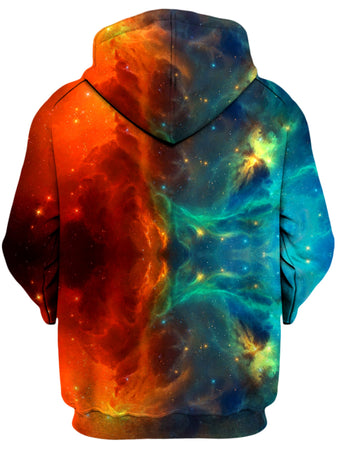 iEDM - Fire and Ice Galaxy Unisex Hoodie