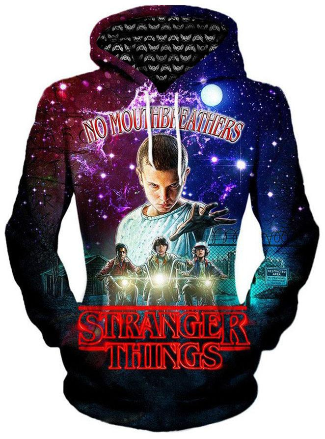 Stranger Things Unisex Hoodie, Different Type, Gratefully Dyed Damen - Epic Hoodie