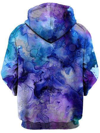Gratefully Dyed Damen - Inkblot Watercolor Unisex Hoodie