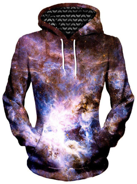 Gratefully Dyed Damen - Interstellar Connection Unisex Hoodie