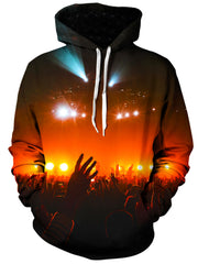 Into the Crowd Unisex Hoodie, Gratefully Dyed Damen, T6 - Epic Hoodie
