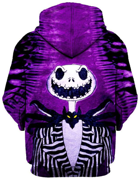 Gratefully Dyed Damen - Jack Skellington Unisex Hoodie