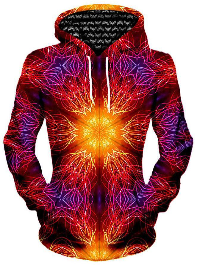 Mandala Madness Unisex Hoodie, Different Type, Gratefully Dyed Damen - Epic Hoodie