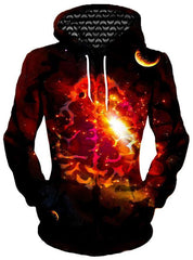 Mindful Space Unisex Hoodie, Different Type, Gratefully Dyed Damen - Epic Hoodie