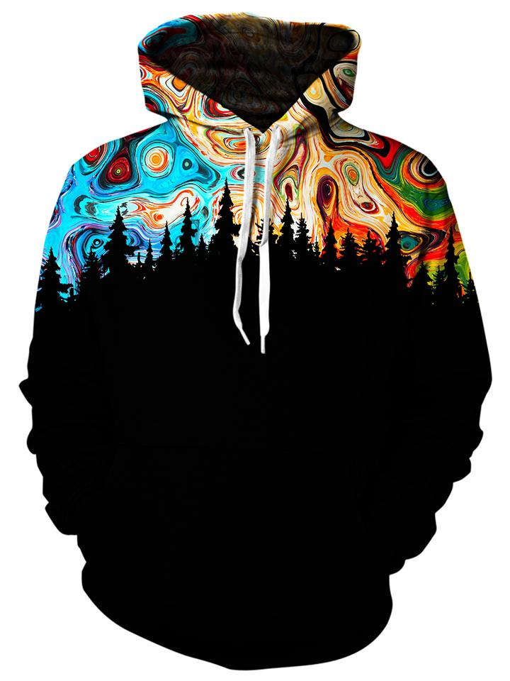 Gratefully Dyed Damen - Night Sky Unisex Hoodie