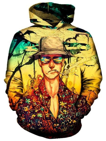 On Cue Apparel - Fear and Loathing Hoodie