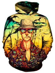Fear and Loathing Hoodie, On Cue Apparel, T6 - Epic Hoodie