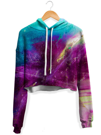 Noctum X Truth - Open Path Fleece Crop Hoodie