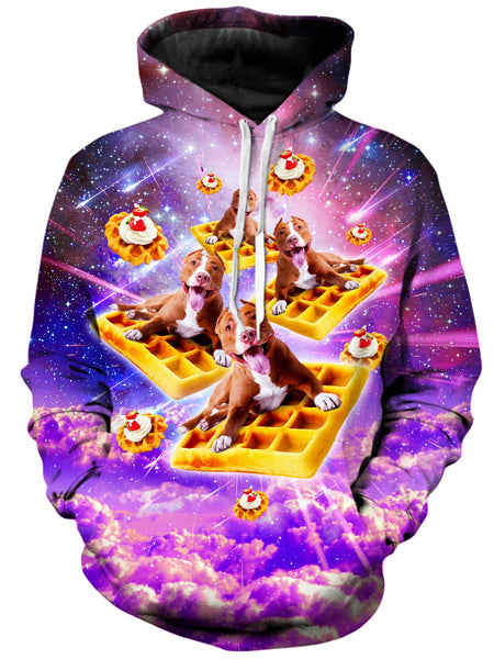 On Cue Apparel - Pitbull Waffle Hoodie
