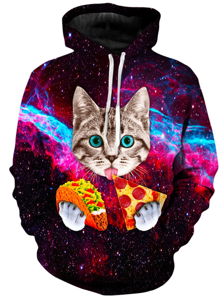 On Cue Apparel - Pizza Taco Cat Hoodie