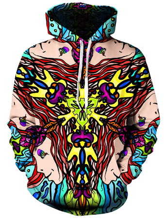 Gratefully Dyed Damen - Reincarnated Dream Unisex Hoodie
