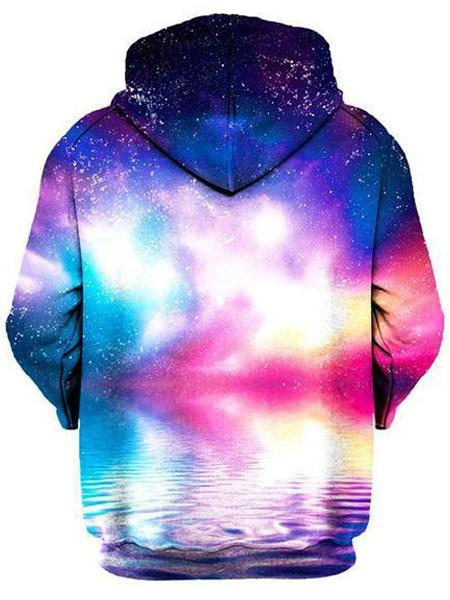 Ripple in Space Unisex Zip-Up Hoodie, Gratefully Dyed Damen, T6 - Epic Hoodie