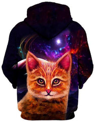 Spaced Cat Unisex Hoodie