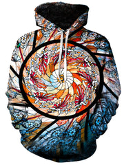 Stained Glass Unisex Hoodie