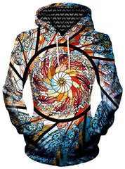 Stained Glass Unisex Hoodie, Different Type, Gratefully Dyed Damen - Epic Hoodie