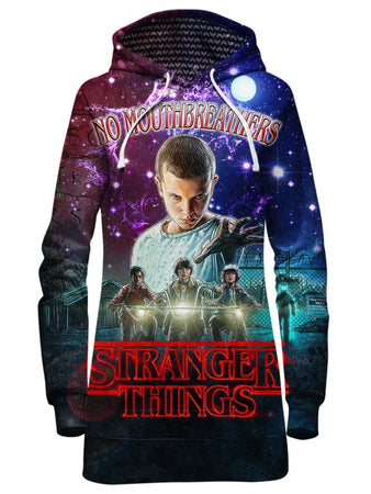 Gratefully Dyed Damen - Stranger Things Hoodie Dress