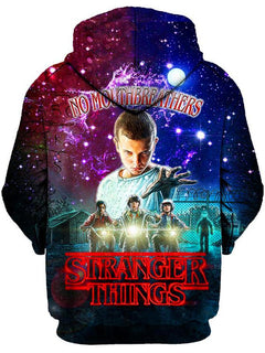 Gratefully Dyed Damen - Stranger Things Unisex Zip-Up Hoodie