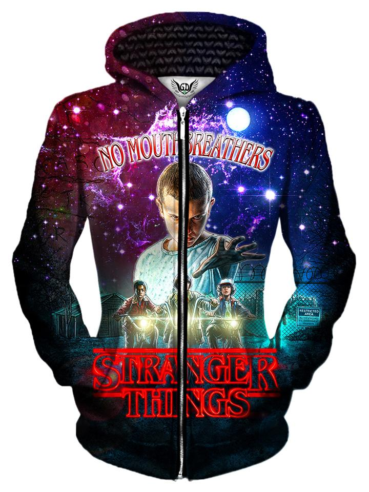 Stranger Things Unisex Zip-Up Hoodie  a8a2a574e