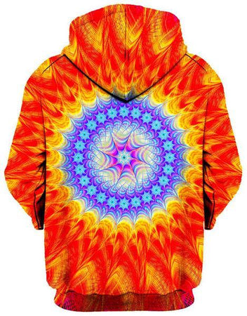 Gratefully Dyed Damen - Super Saiyan Unisex Zip-Up Hoodie