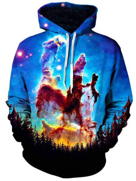 Gratefully Dyed Damen - Tree Space Unisex Hoodie
