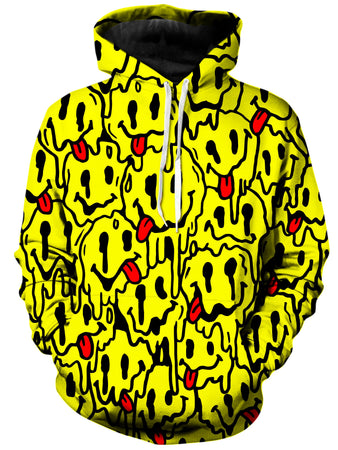 On Cue Apparel - Trippy Emoji Hoodie