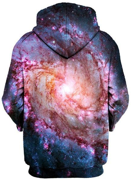 Gratefully Dyed Damen - Twisted Skies Unisex Zip-Up Hoodie