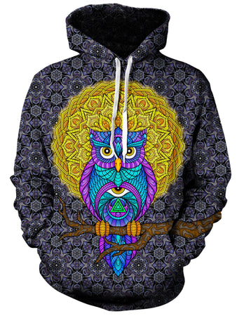 Gratefully Dyed Damen - Watch Over Me Unisex Hoodie