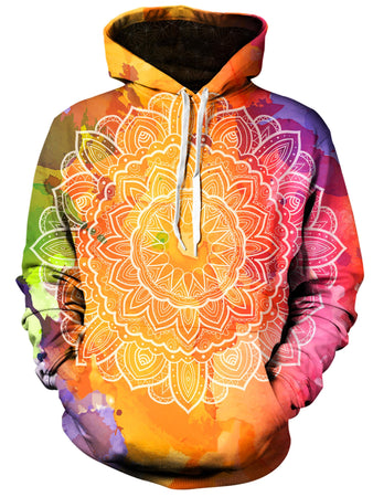 Gratefully Dyed Damen - Watercolors Unisex Hoodie