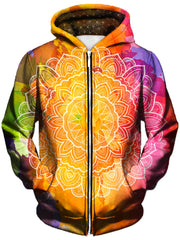 Watercolors Unisex Zip-Up Hoodie
