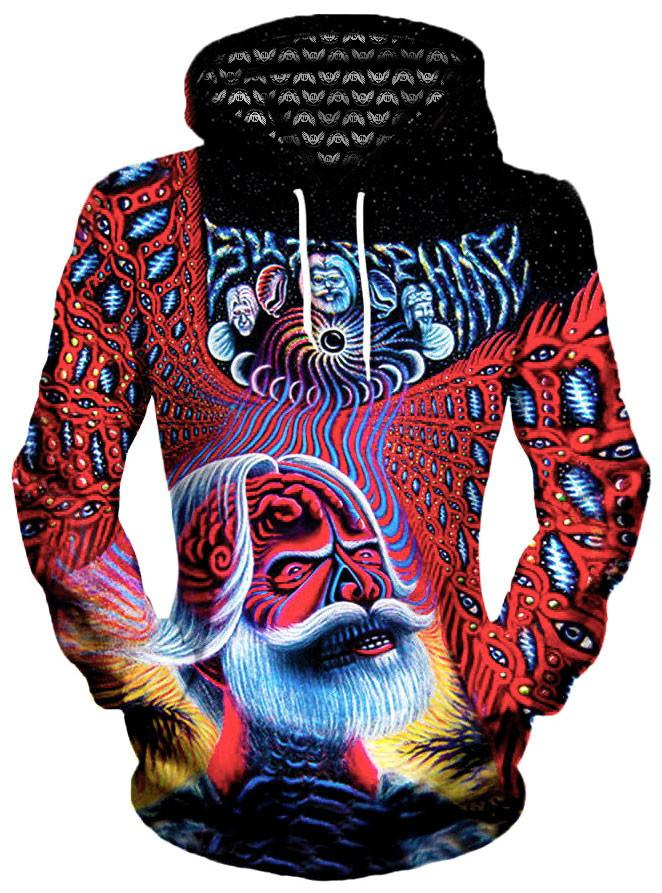 Weirwolf Unisex Hoodie, Different Type, Gratefully Dyed Damen - Epic Hoodie