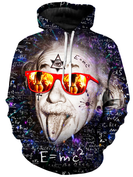 On Cue Apparel - Wild Albert Einstein Hoodie