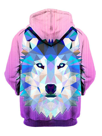 Gratefully Dyed Damen - Wolf Within Unisex Zip-Up Hoodie