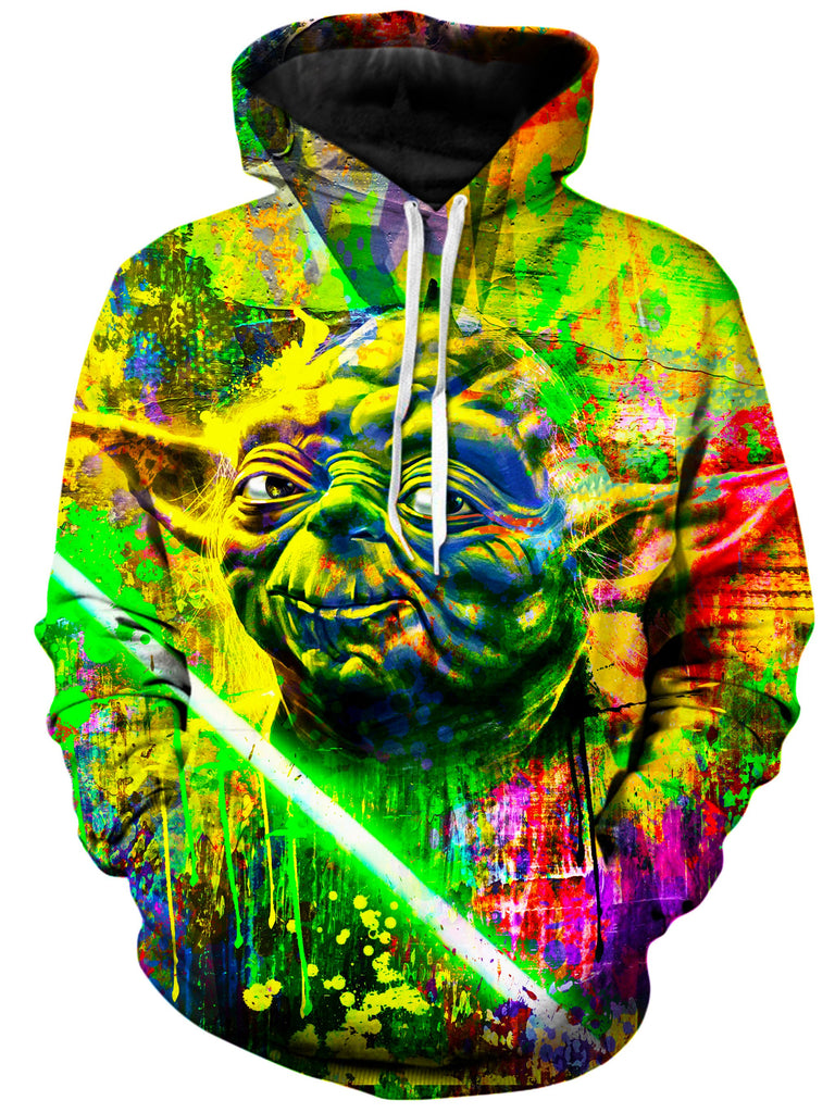 On Cue Apparel - Yoda Splash Hoodie