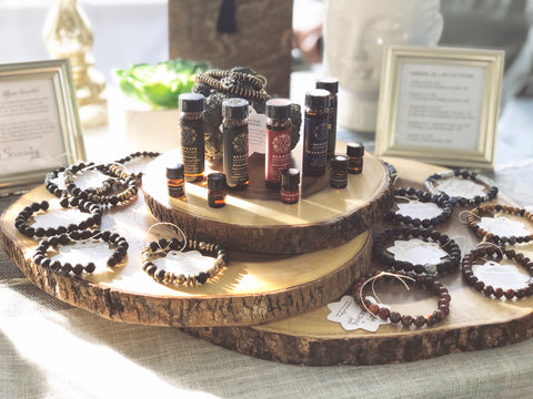 Soulshine diffuser bracelets and essential oils