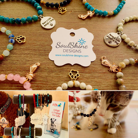 Shelter Pets jewelry collection