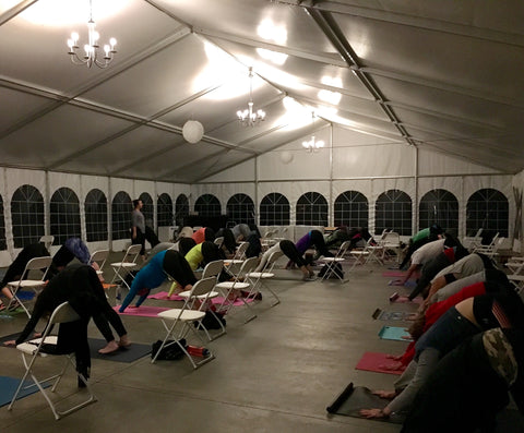 yoga buzz at weingarten