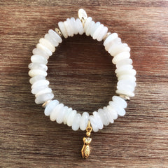 Fertility Goddess Moonstone Mala
