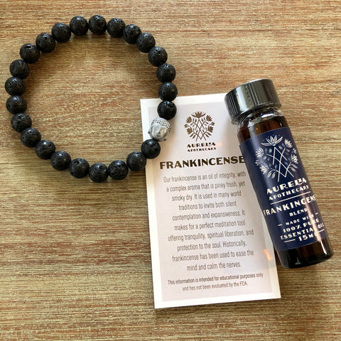 Strength and Compassion Frankincense Buddha Gift Set