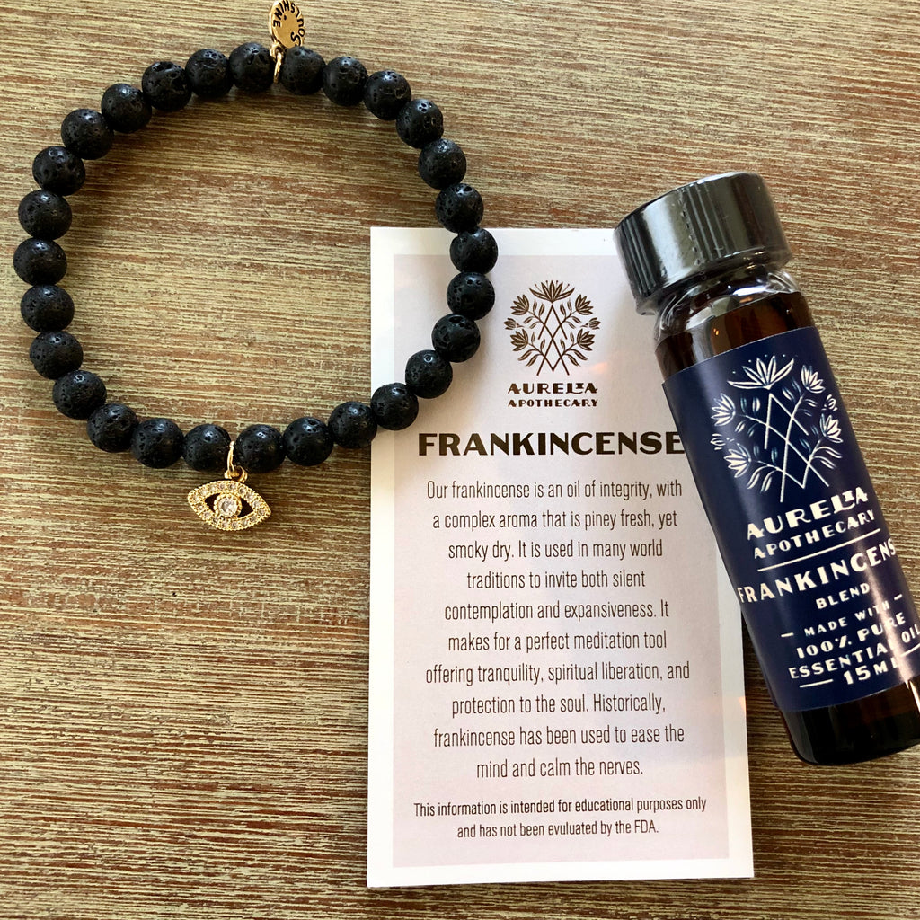 Strength and Protection Frankincense Evil Eye Gift Set