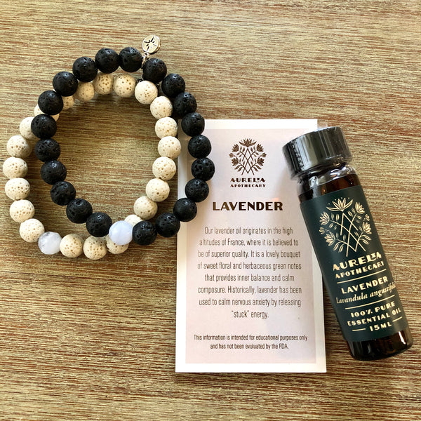 Root to Rise Lavender Agate Gift Set