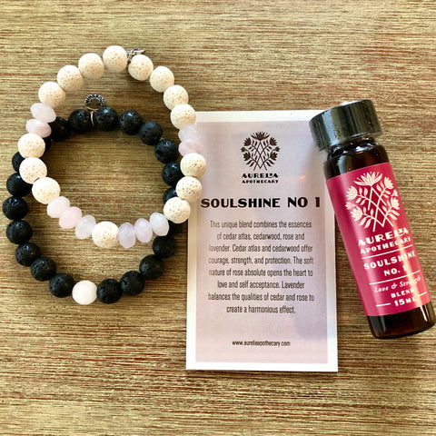 Love and Strength Rose Quartz Gift Set