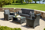 Belle Harbour 4PC Sofa Set