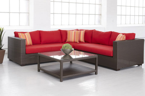 Bordeaux 5PC Deep Seating Set