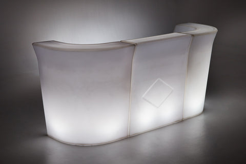 LED Illuminated Ice Bucket
