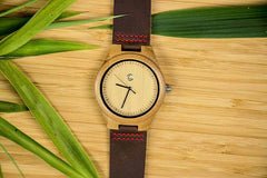 Personalized Father/Mother Of The Bride Wooden Watch