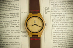 Personalized New Baby Wooden Watch