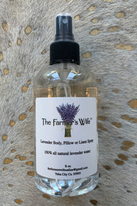 LAVENDER LINEN/BODY SPRAY