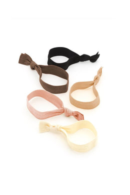 SINGLE HAIR TIES