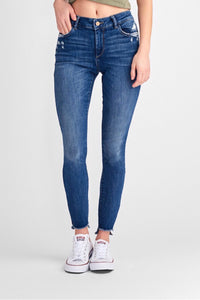 FLORENCE MID RISE SKINNY - BRISTOW WASH